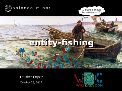 entity-fishing presentation at WikiDataCon 2017